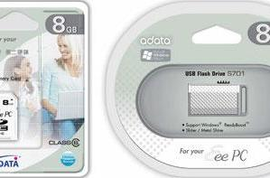 """A-DATA intros """"special edition"""" flash cards, drives for Eee PC users"""