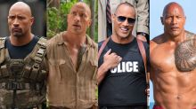All the different roles The Rock has played so far