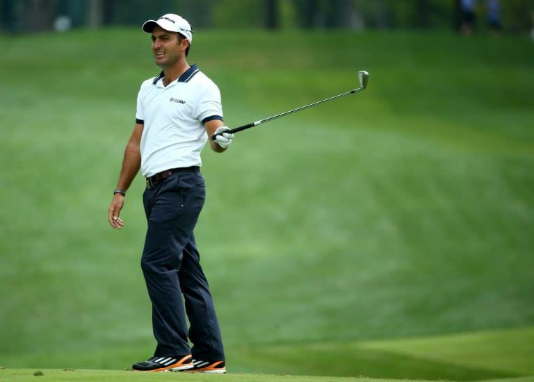 Edoardo Molinari's highest ranking of 14 in the world was in 2010