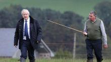 Boris Johnson tells farmers UK 'won't compromise' on high food standards