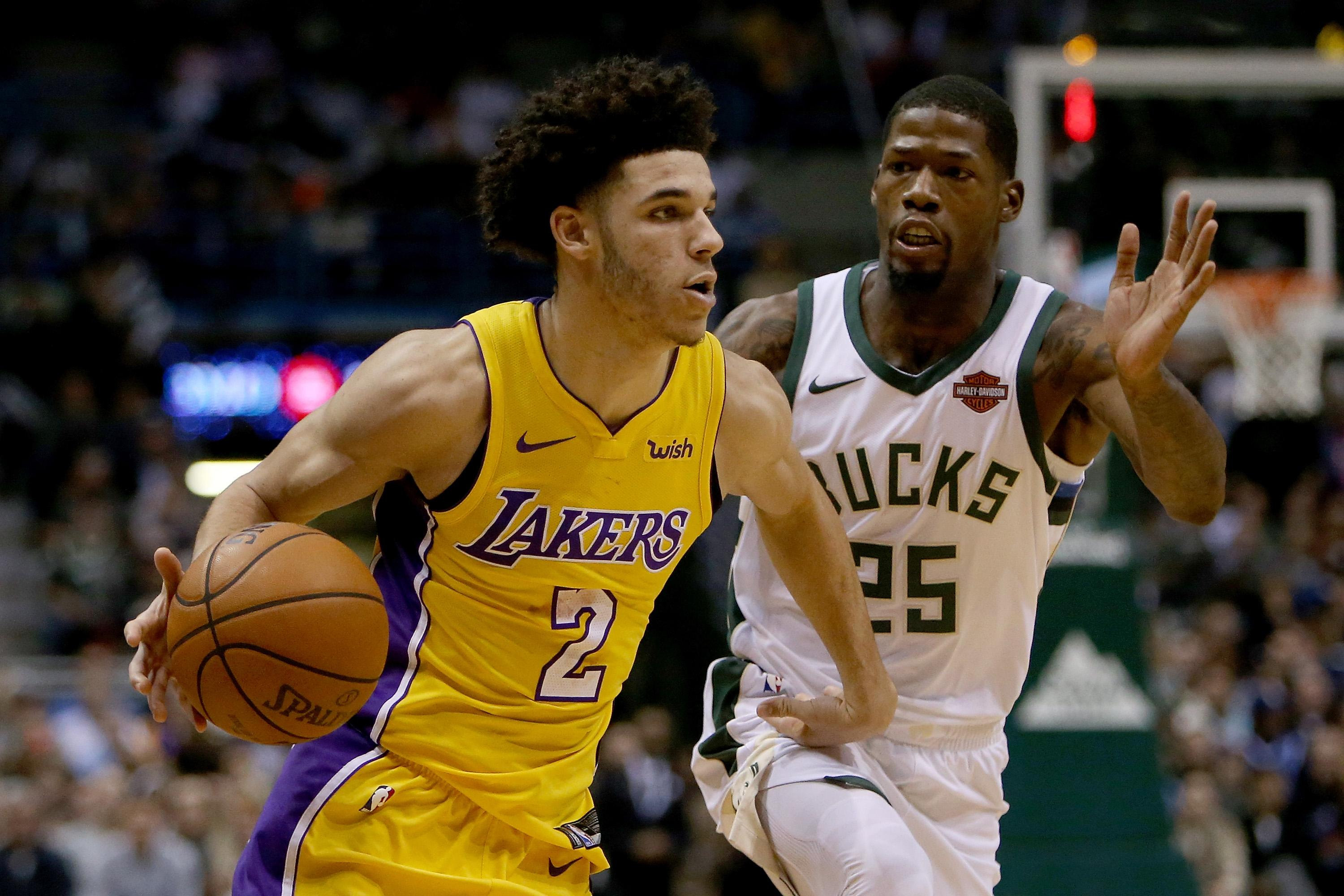 Lonzo Ball fueled by triple-double: 'I really don't give a ...