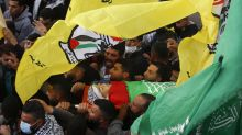 Mourners gather for Palestinian youth shot by Israeli forces