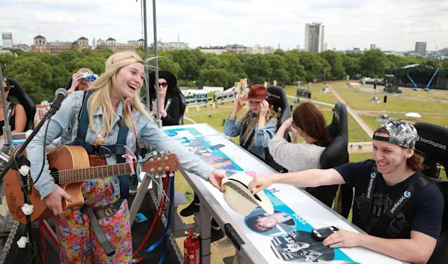Buskers in London are the first to accept tap-to-pay cards