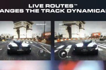 Grid 2's 'Live Routes' alter tracks and turns