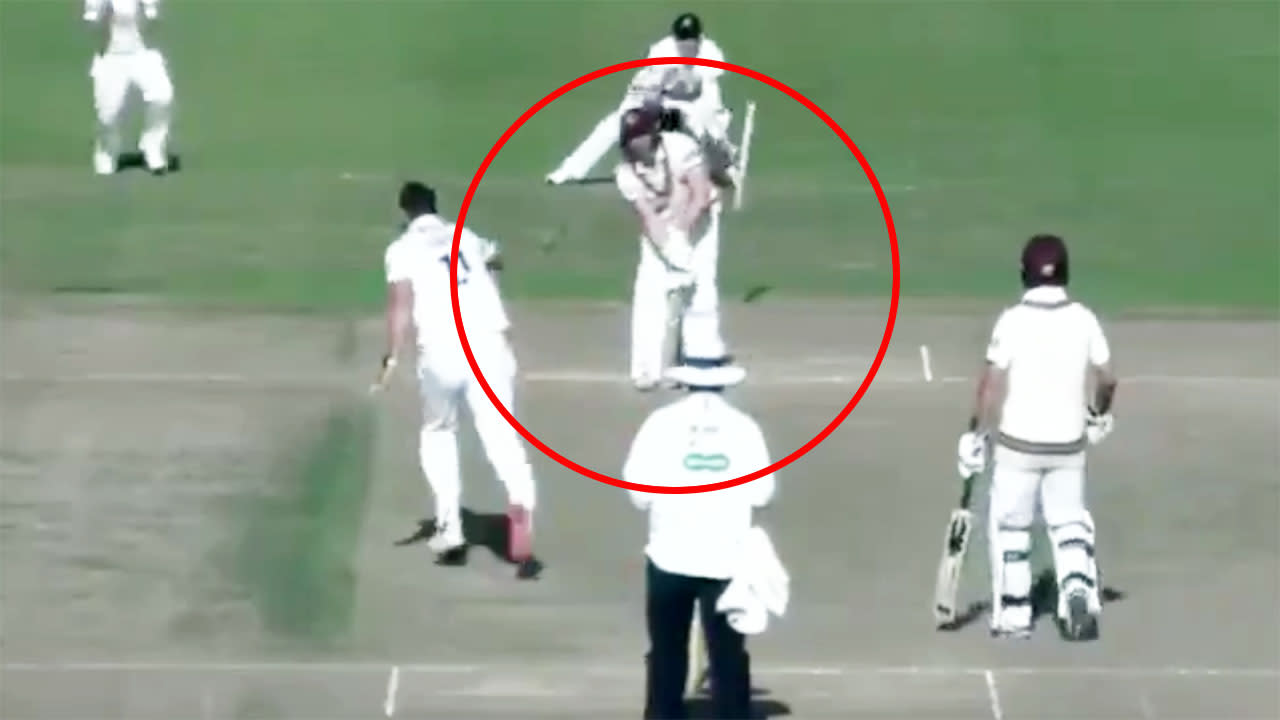 'Astonishing' cricket moment that hasn't been seen in 63 years