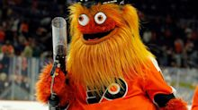 NHL's Baffling Mascot Gritty Shoots His Shot with Kim Kardashian in Hilarious New Interview