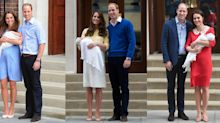 Differences Between Royal Baby Debut Photos