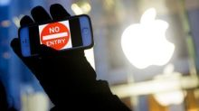 iPhone security protests