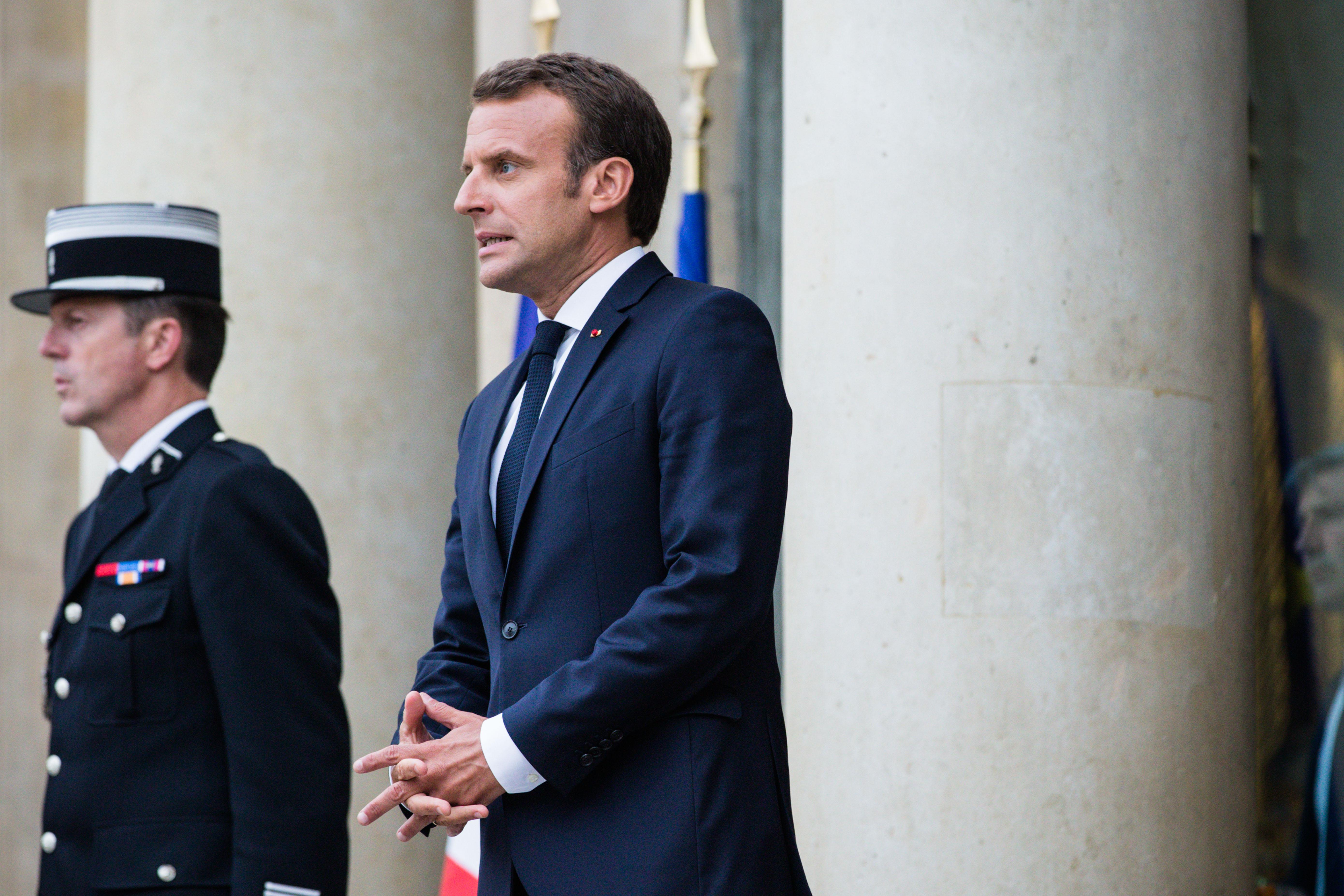 Emmanuel Macron Ordered a Really Fancy Set of China and People Are Angry