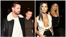 Kourtney Kardashian suits up for outing with Scott Disick and Sofia Richie