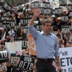O'Rourke holds rally near Mexican border that Trump threatens to shut