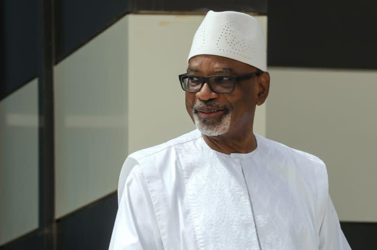 Mali's ousted leader Keita leaves hospital