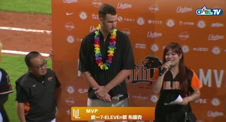 布雷克好投 拿下個人首勝以及MVP