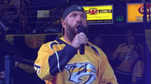 Is NXT's Eric Young cool with Bobby Roode's Predators playoff anthem?
