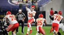Mahomes outplays Jackson to lead Chiefs past Ravens 34-20