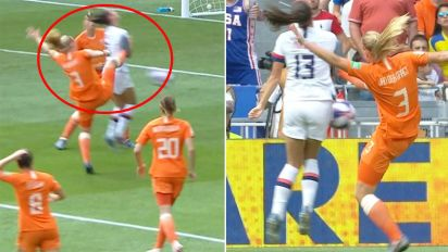 Controversy erupts in Women's World Cup final