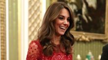 Duchess of Cambridge stuns in $790 Needle & Thread dress at Buckingham Palace reception - and it's still available to buy