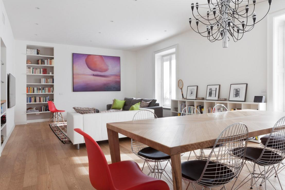 Sala E Cucina Open Space. Progettare Una Cucina Open Space With Sala ...