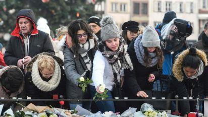 Fifth Strasbourg terror victim dies as city holds emotional memorial