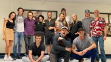 James Gunn delivers message to Marvel and DC fans as 'The Suicide Squad' assemble for photo