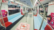 NDP-themed MRT trains launched ahead of Singapore's National Day