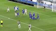 Le coup franc astucieux qui met la Juventus sur le chemin du titre en vidéo