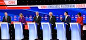 Democratic presidential candidates (Getty Images)