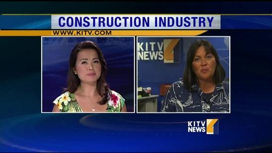 Unemployed construction workers hanging on