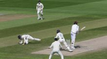 Early frustration for England on day four