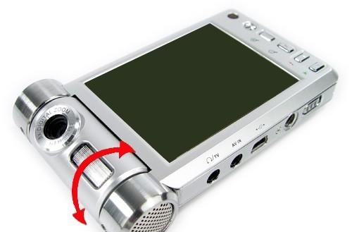 iriver SPINN gets knocked off as... a digital camera