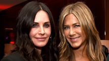 As Jennifer Aniston and Courteney Cox attend a premiere together, we chart the duo's red carpet relationship