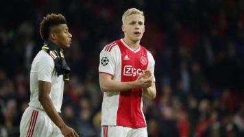 Foot - C1 - Ajax - Donny van de Beek, avant Ajax Amsterdam-Valence: «Je ne pense absolument pas au Real Madrid»