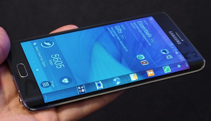 Samsung's Galaxy S6 will have a wrap-around display, says Bloomberg