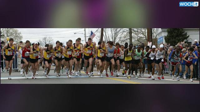 Boston Marathon Kicks Off With 36,000 Runners In The Field