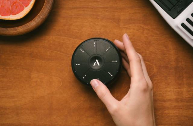 Orba is a tiny instrument that you shake, tap and twist
