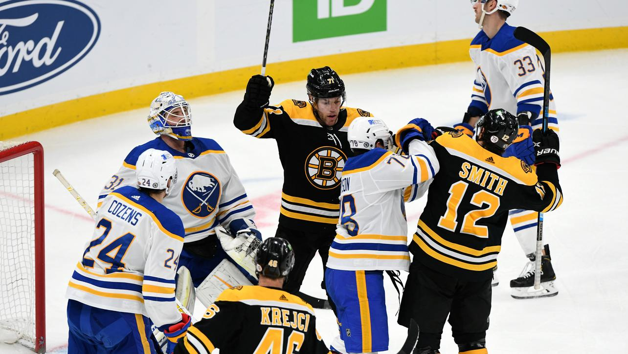 Bruins vs. Sabres highlights: B's win in shootout, 3-2