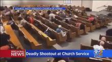 Parishioners shot and killed Texas church gunman, police say