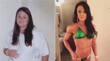 Canadian woman earns her way into'People' magazine by losing 100 pounds