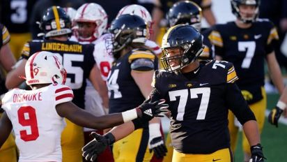 Iowa offensive lineman Alaric Jackson remains top-ranked prospect for 2021 CFL draft
