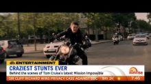 Tom Cruise's craziest stunts ever