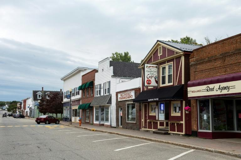 Downtown Millinocket, Maine, which has been forced into a new lockdown after a superspreader event at a wedding left more than 170 infected with coronavirus and killed seven