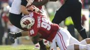 Wisconsin's 336-pound NT easily lands backflip