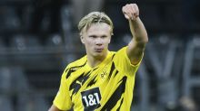 Erling Haaland at the double as Borussia Dortmund earn opening-day victory