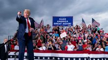 Trump to rally supporters in battleground Michigan as polls suggest race is tightening