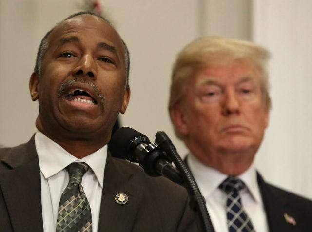 Ben Carson Delivers Touching MLK Speech While Being Trump's Black Pawn
