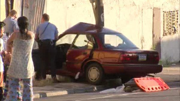 Pregnant woman hit by car in North Phila.