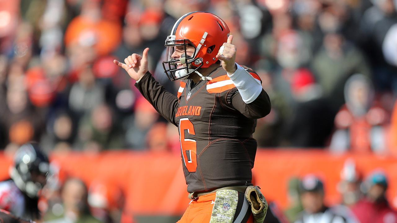 Joe Thomas Gives Baker Mayfield an 'A', but There Are Still Areas for Improvement