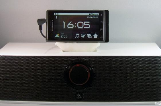 Droid made to work with iPod docks using unholy homemade adapter