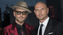 Bros are at it again: Watch Luke Goss insult Matt's outfit on live TV