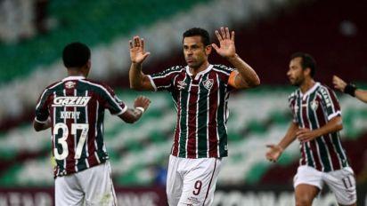 Após virada do Fluminense contra o Santa Fé, Fred diz: 'Estamos muito confiantes'
